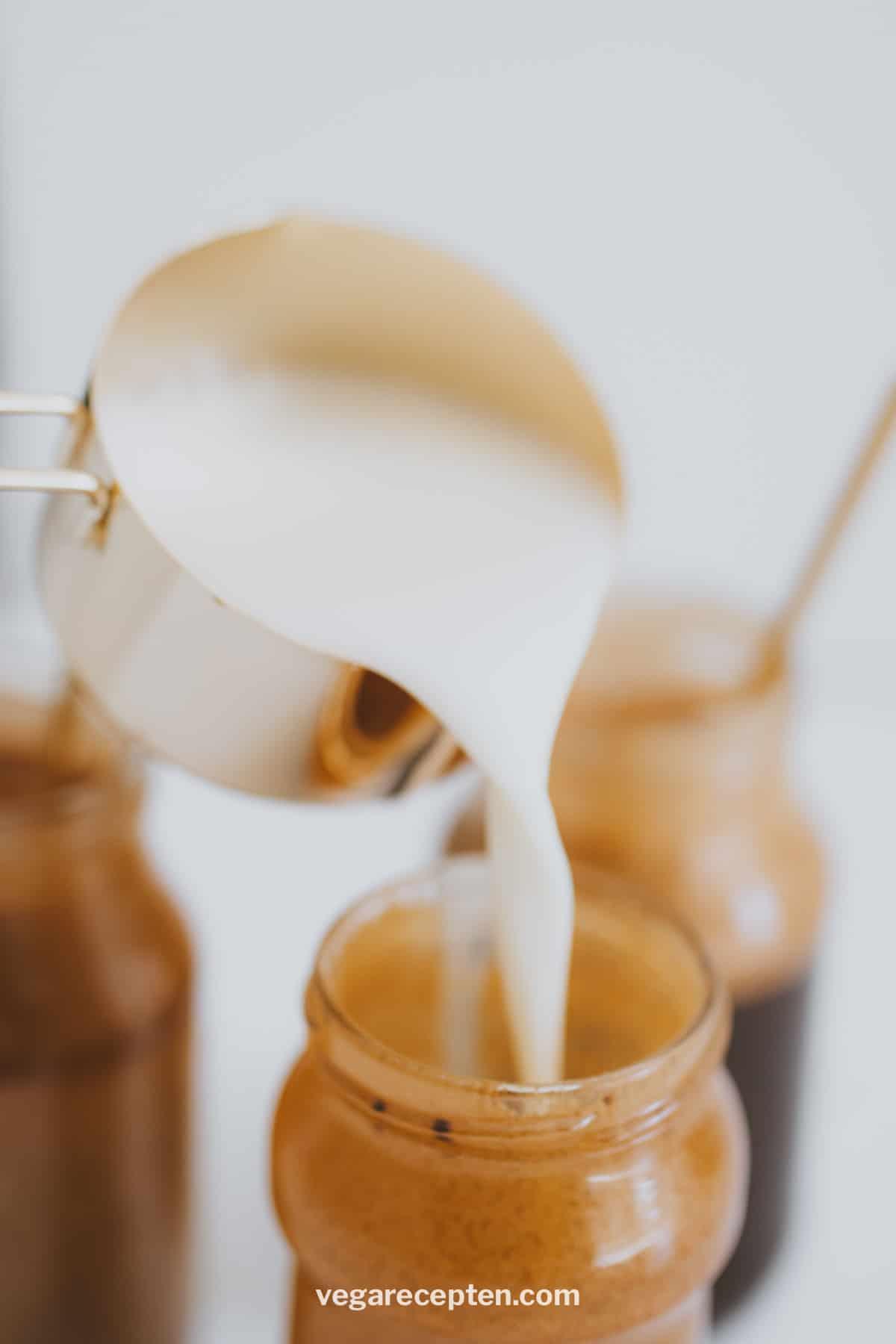 Griekse frappe maken met melk