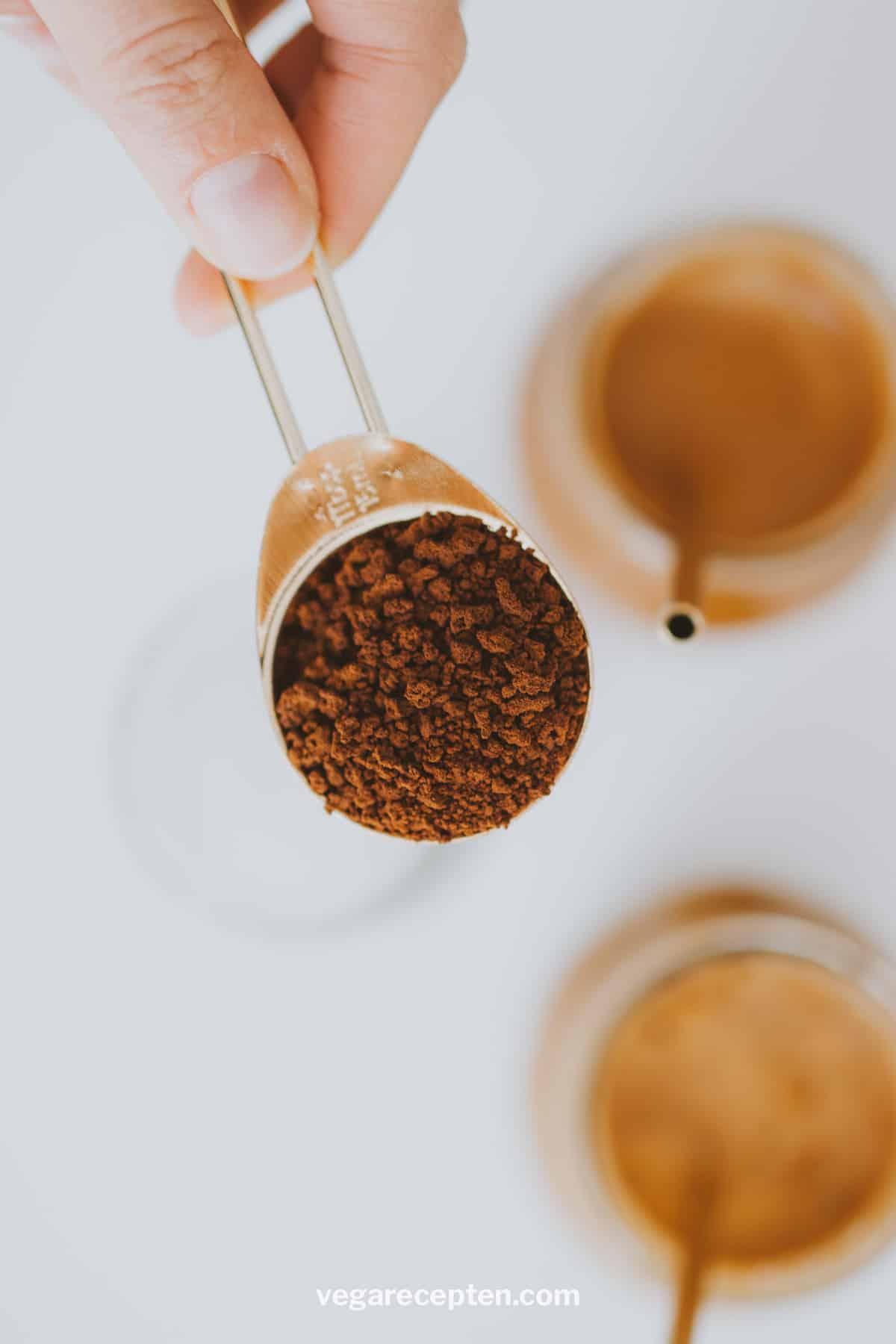 Griekse frappe met nescafé