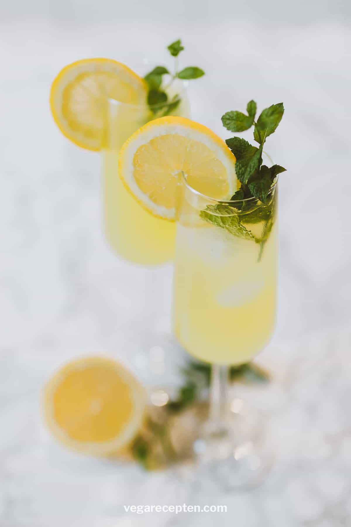 Limoncello mixen