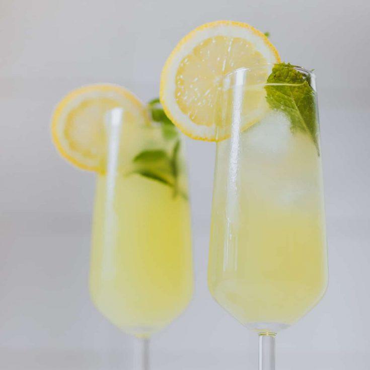 Limoncello spritz maken