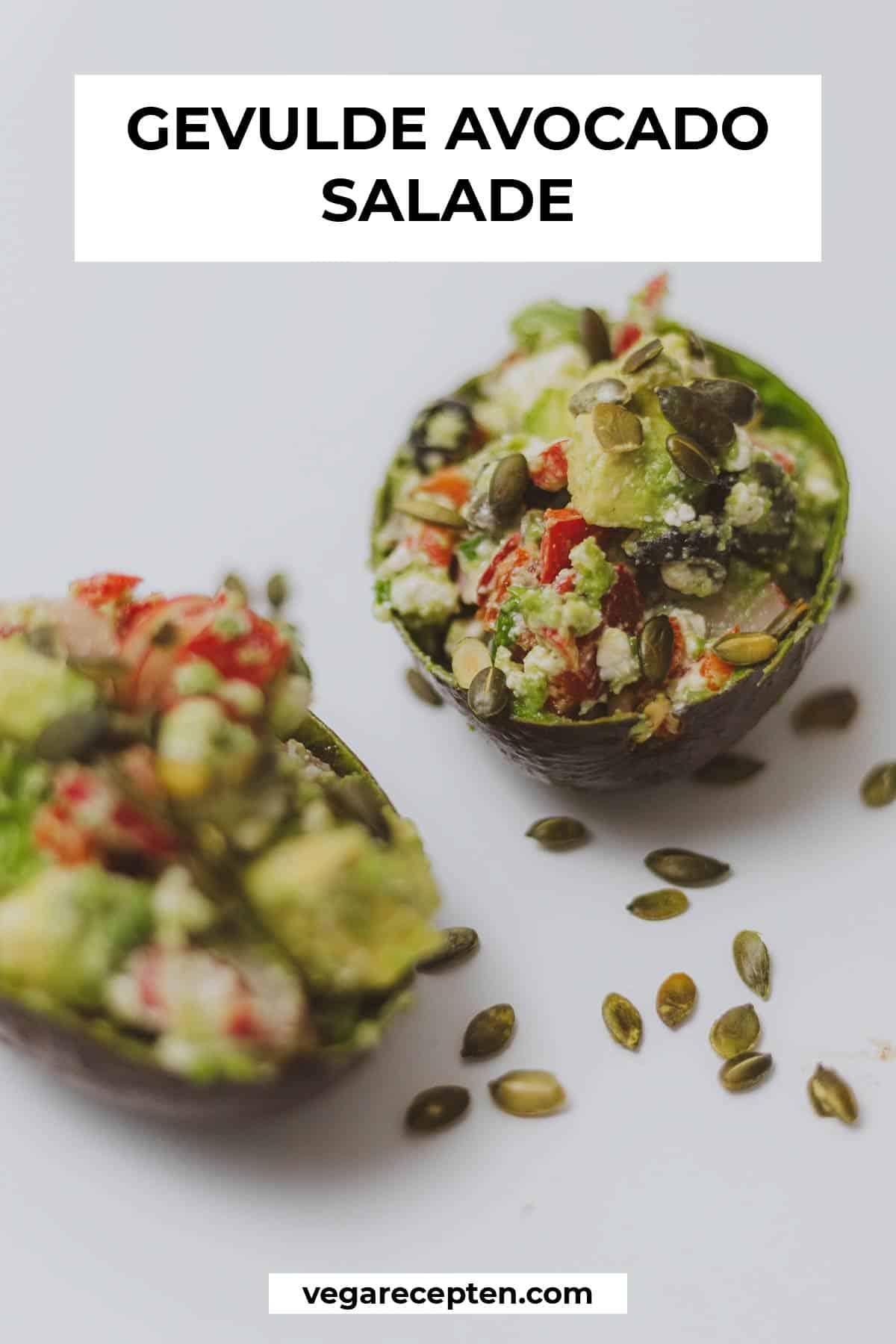 gevulde avocado salade recept feta