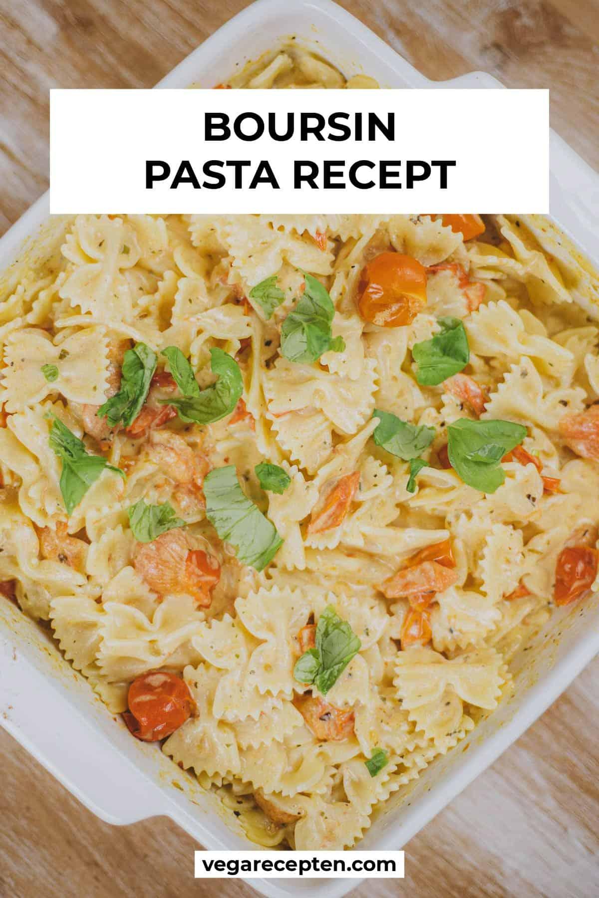 pasta boursin recept