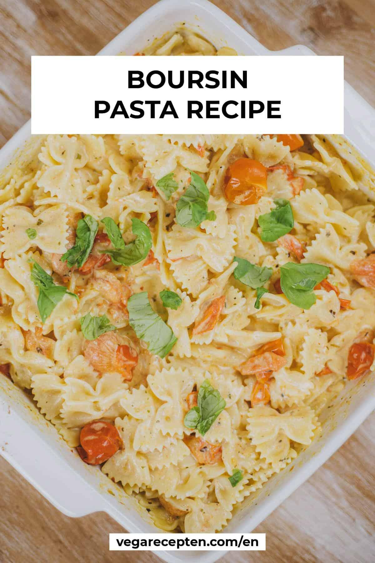 pasta boursin recipe