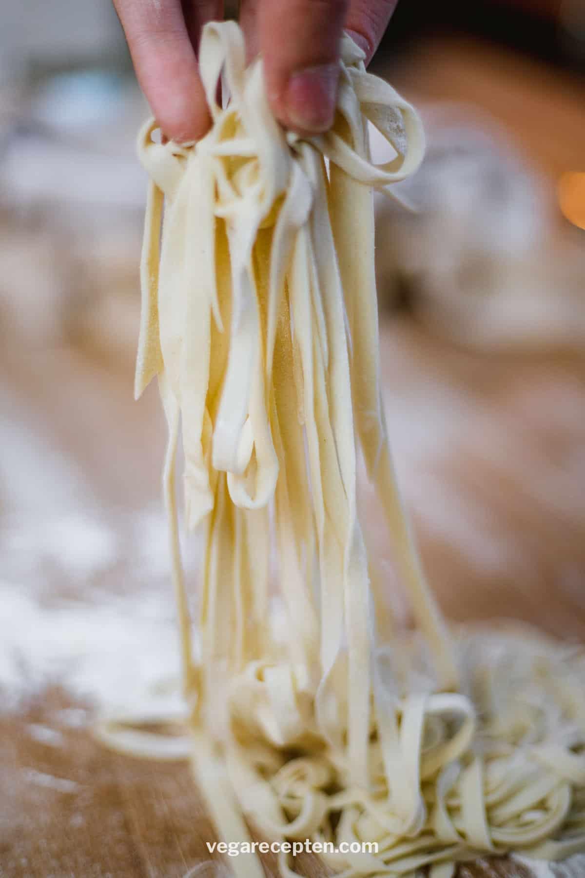 Pasta recept tagliatelle