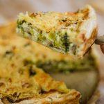 Preitaart maken een vegetarische hartige taart recept