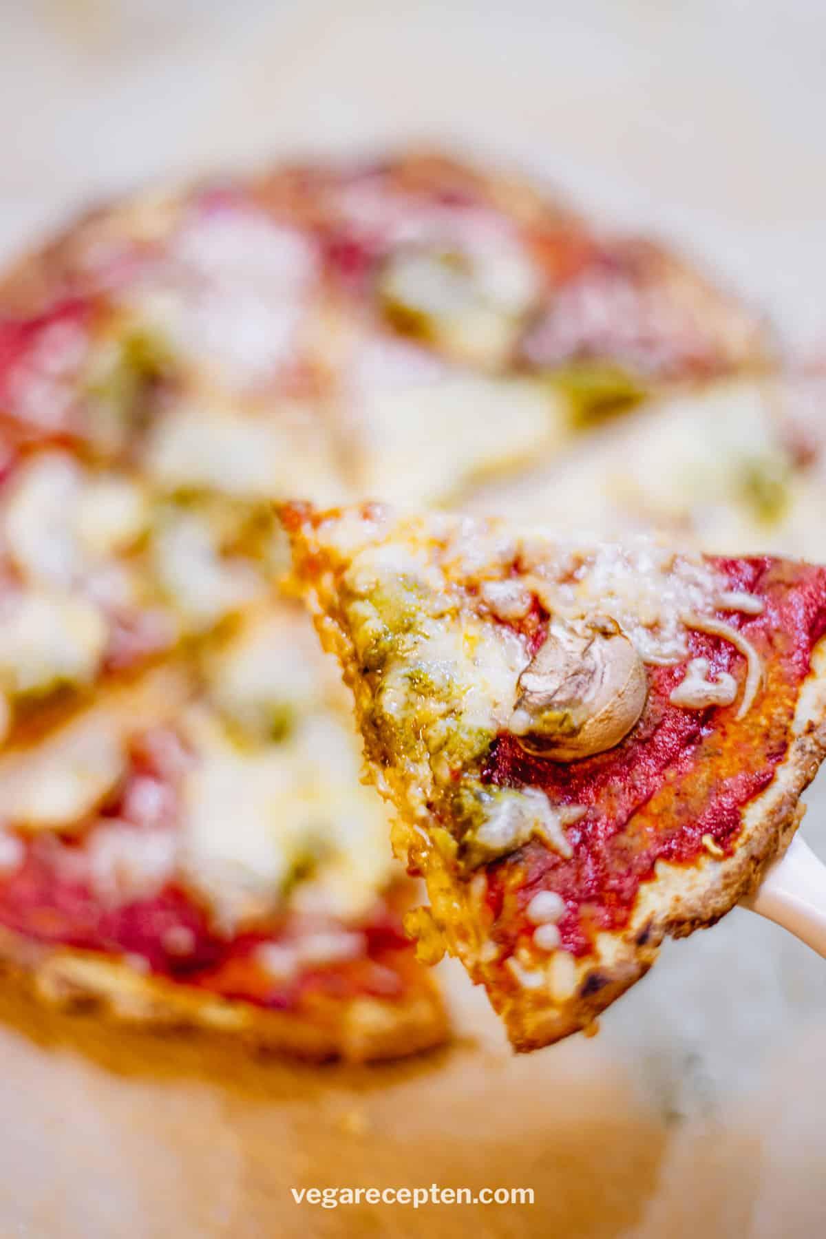 Vegan bloemkoolpizza maken