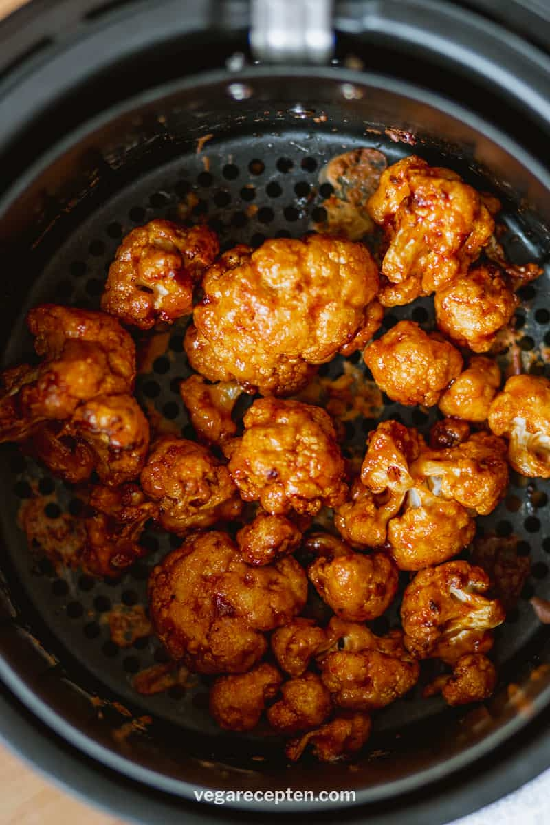 bbq cauliflower wings air fryer