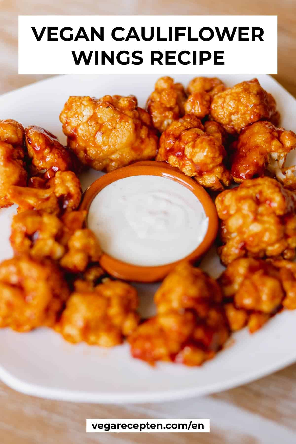 vegan cauliflower wings recipe