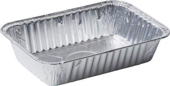 Rechthoekige (Kapsalon) Aluminium Bakjes