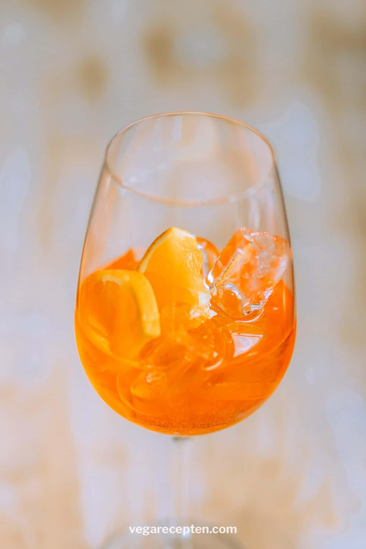 Aperol spritz zomer drankje