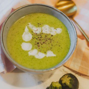 Courgettesoep recept zelf courgettesoep maken