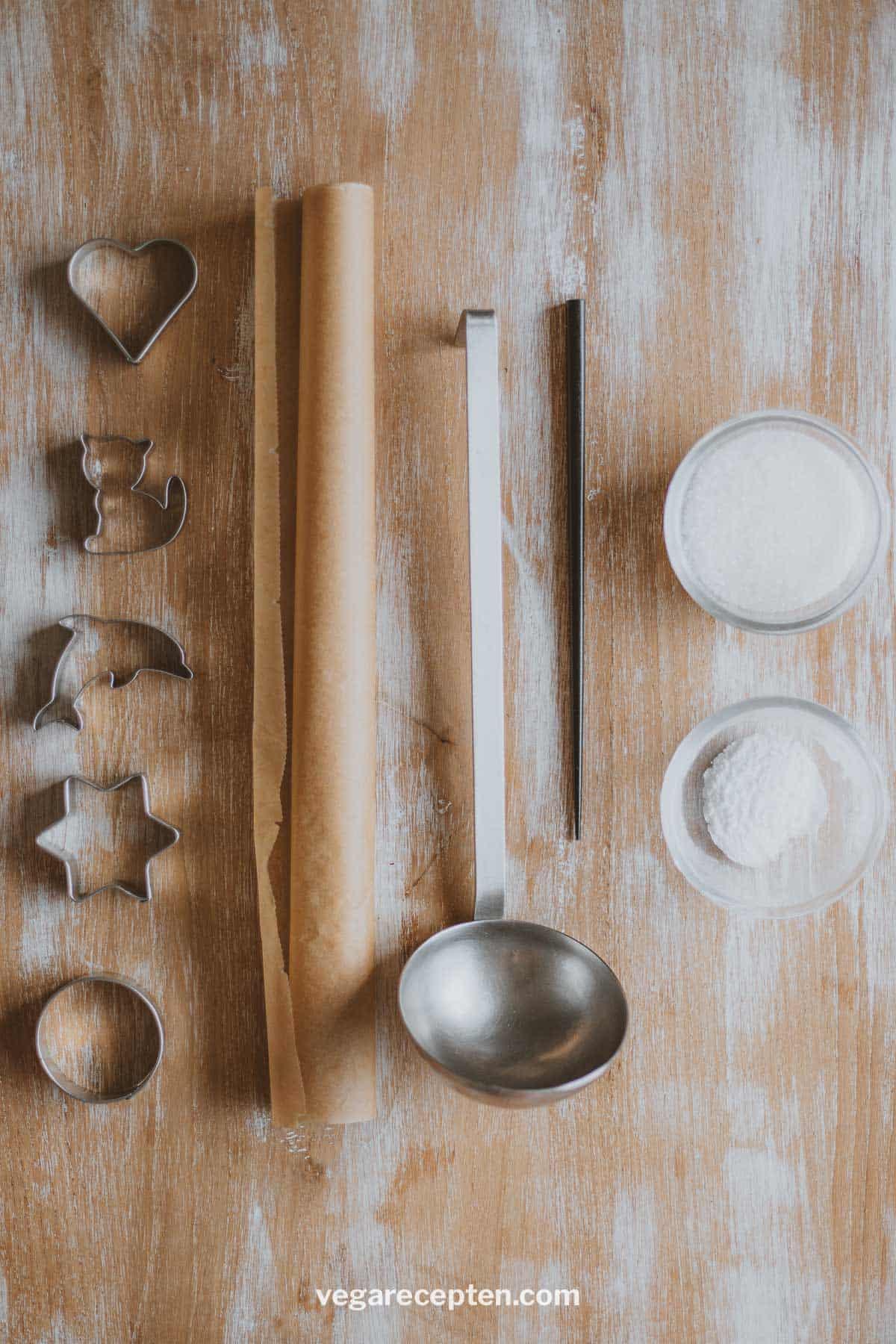 Dalgona Candy ingredienten honeycomb