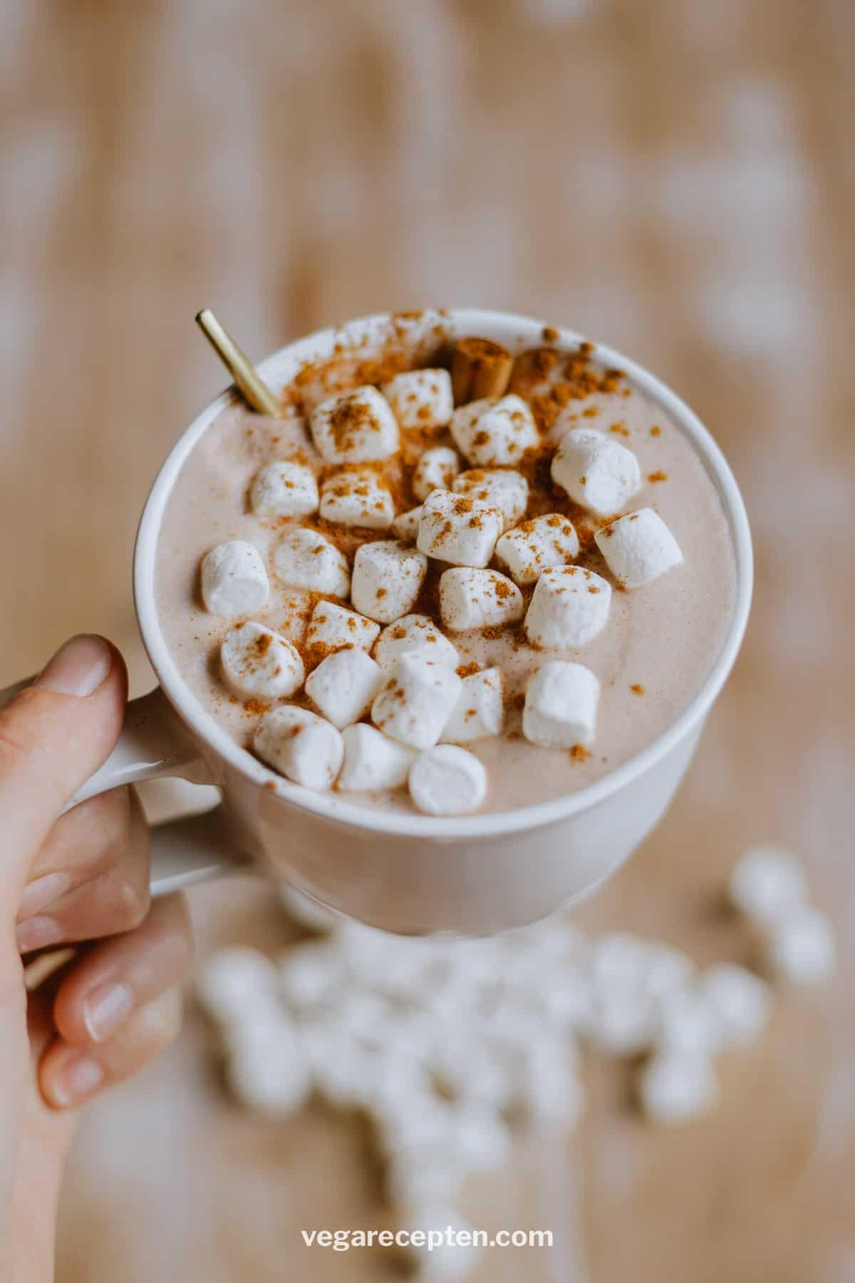 Warme chocolademelk maken